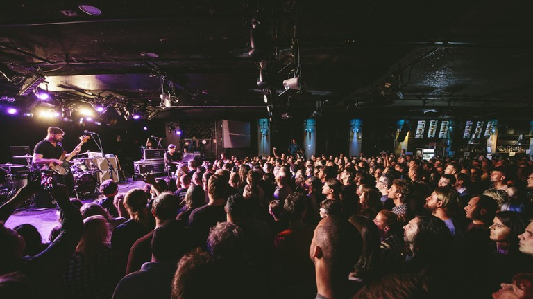 A concert at Budapest's A38