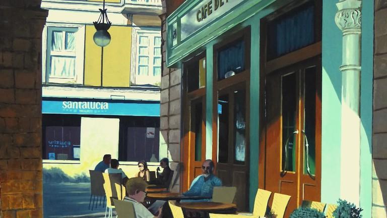 Cafe de Pombo, Santander, Spain | ©Jrmuro / Wikimedia Commons