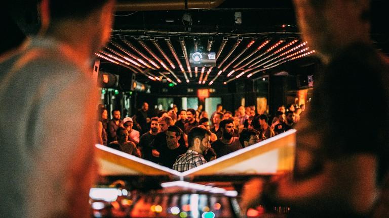 Inside Budapest's Corvin Club