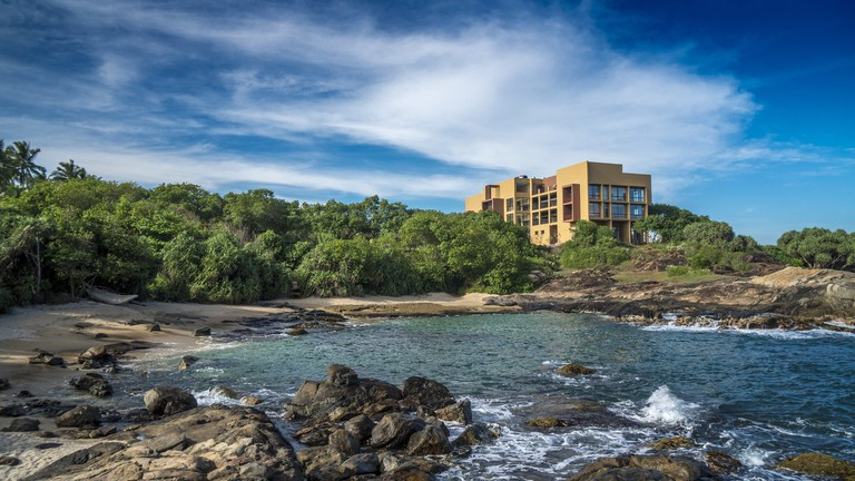 http://www.sooriya.com/ Sooriya Resort from the beach