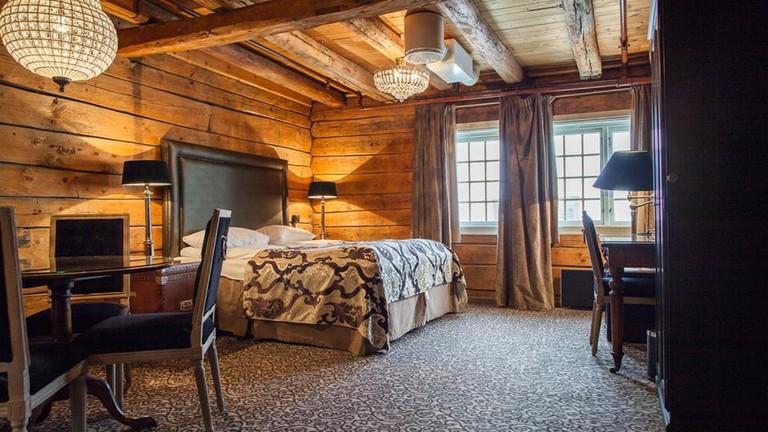 Hotel room at Det Hanseatiske Hotel | Courtesy of Det Hanseatiske Hotel