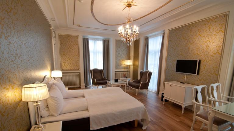 Junior suite at Grand Hotel Terminus | Courtesy of Grand Hotel Terminus