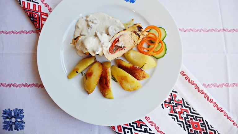 A meal at Kulinarium