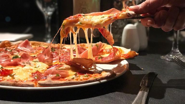 Pizza at Babucho, Newcastle
