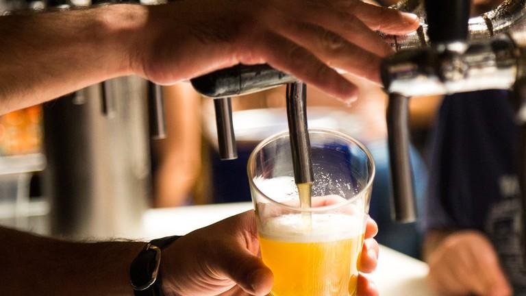 Brazilians drink beer in small glasses | Max Pixel