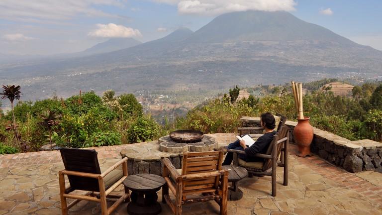 Views from Virunga Lodge