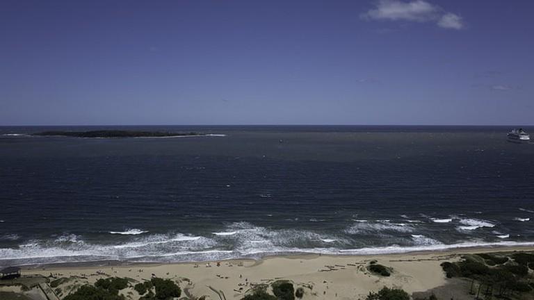 Mansa Beach and Atlantic Ocean in Punta del Este