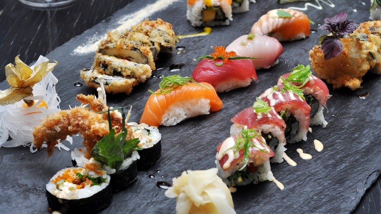 Sushi in Cologne Germany