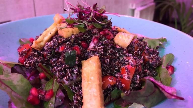 Black quinoa tofu salad | © Love Thy Neighbour Facebook