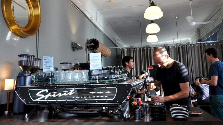 Interior, Coffee Alchemy