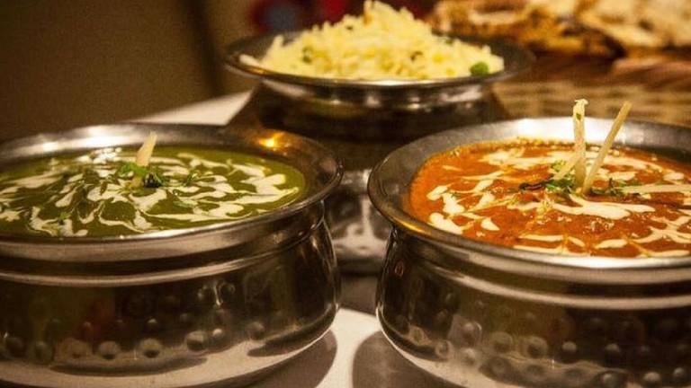 Indian food at Taj Mahal | (c) Spyrro Filmes | Taj Mahal