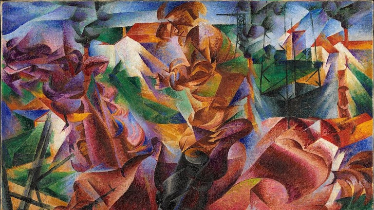 Umberto Boccioni's 'Elasticità' (1912) from the permanent collection of Museo Novecento, Milan