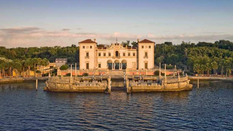 Overview of Vizcaya in Coconut Grove
