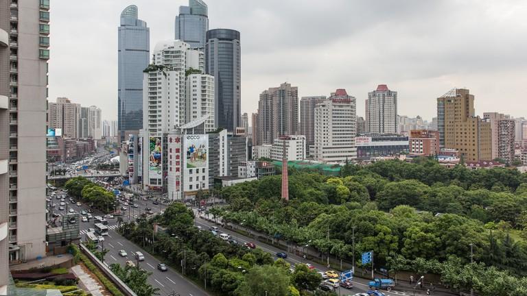 Zhaojiabang Road and Xujiahui Park