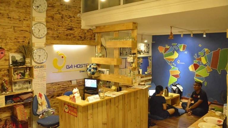 Reception at GA Hostel | © Hotels.com