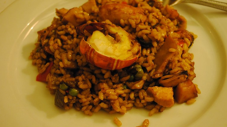 The Parellada Paella at 7 Portes © Vinicius Pinheiro