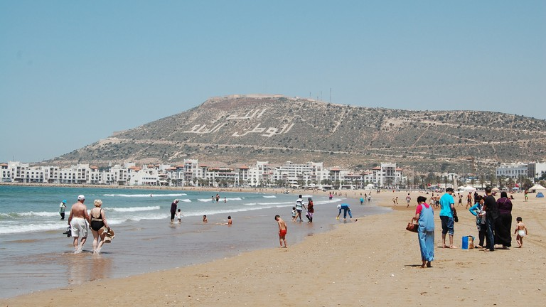 Agadir mountain