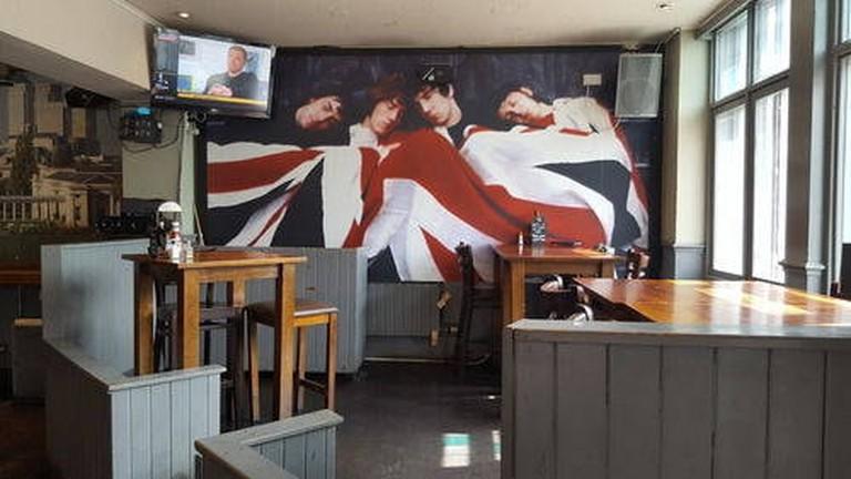 Belushi's bar below St Christopher's Inn Greenwich