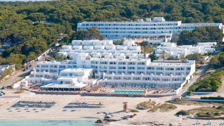 Hotel Riu La Mola courtesy of Riu Hotels & Resorts