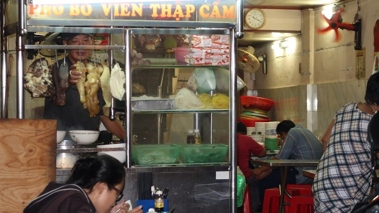 It may not look like much, but it's some of the best pho in town | © Sam Roth