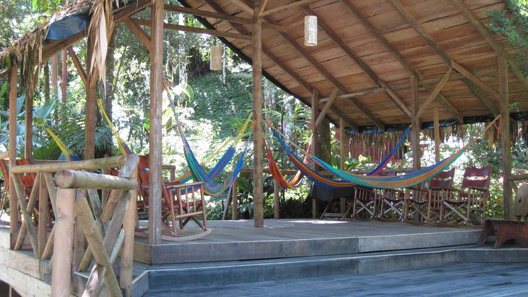 Relax at the Pacuare Lodge © Chad Rosenthal
