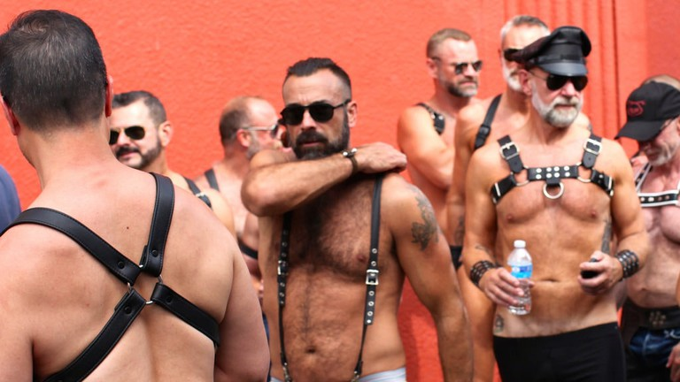There's a fun-loving crowd in Sitges
