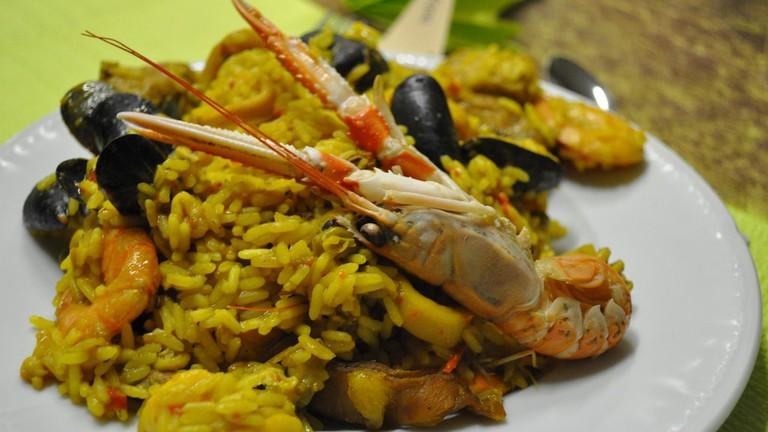 Seafood paella | © Frédérique Voisin-Demery/Flickr