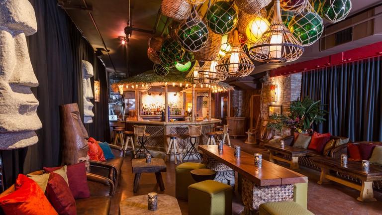 Bar Interior | Courtesy of Tiki Tolteca