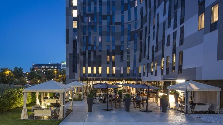 The unusual Falkensteiner Hotel in New Belgrade | © Falkensteiner Hotel/Hotels.com