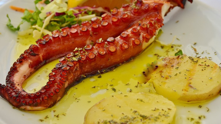 Grilled octopus CC0 Pixabay