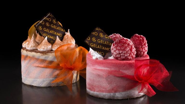 possible gelatiamo - 2 gelato cakes mini