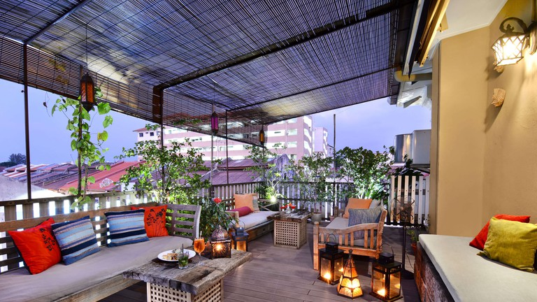 Rooftop terrace at Campbell House | Courtesy of Campbell House