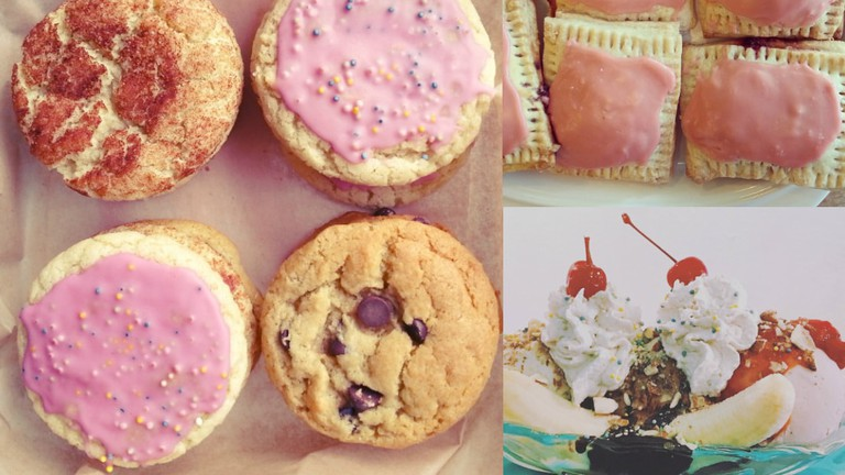 Dessert Collage | Courtesy of Seattle Cookie Counter