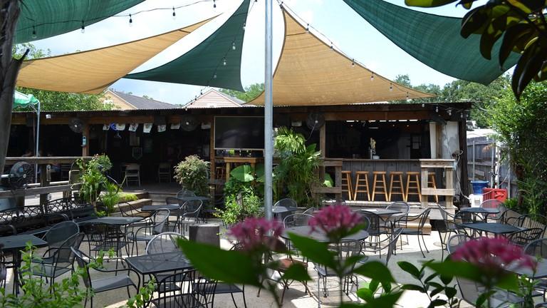 Back Deck | Courtesy of Bayou Beer Garden