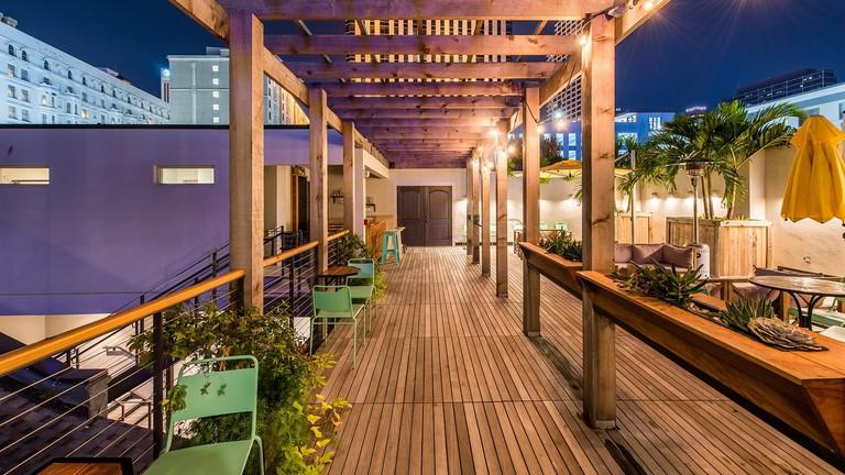 smaller Rooftop Bar
