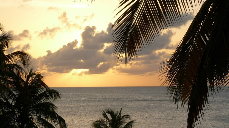The sunset in St Lucia CC0 Pixabay