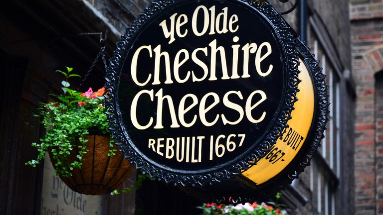 Ye Olde Cheshire Cheese