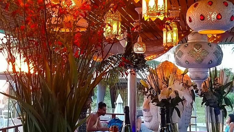 YNDÚ Beach Lounge in Leblon | Courtesy of YNDÚ Beach Lounge