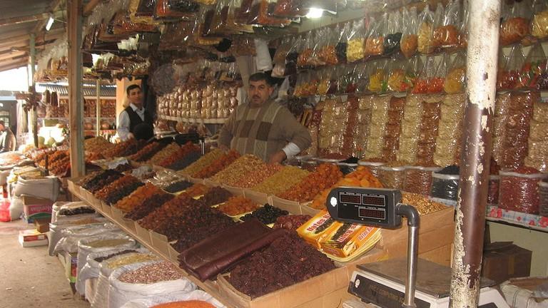 Experience the markets of Taza Bazaar