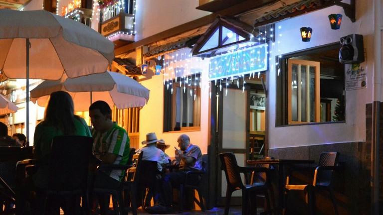 Tables on the Street at La Molienda