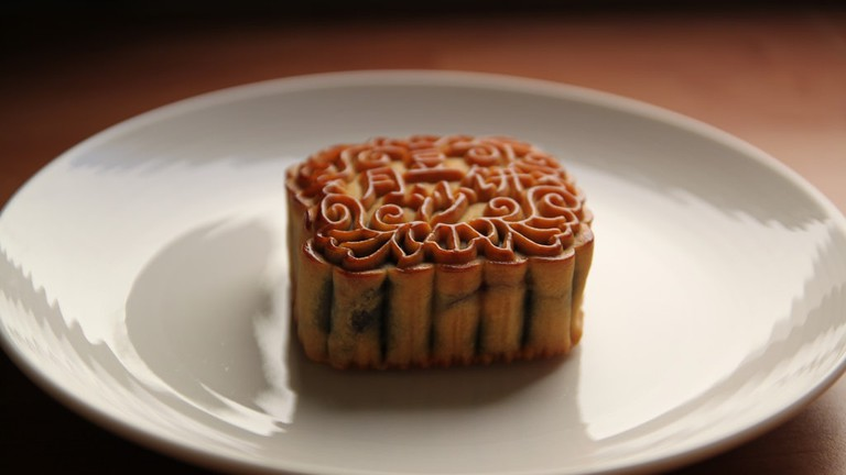 Buy moon cake at Ketsara Bakery