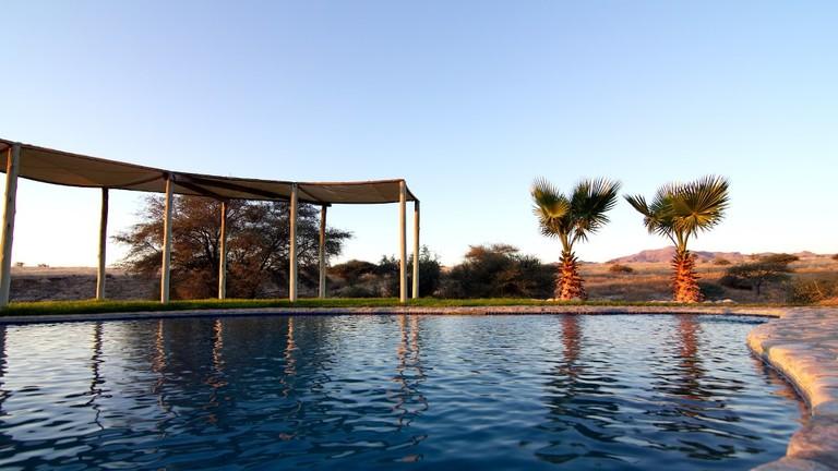 Agama River Lodge swimming pool