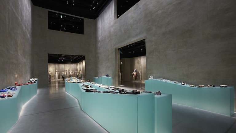 Accessories display at Armani / Silos, Milan