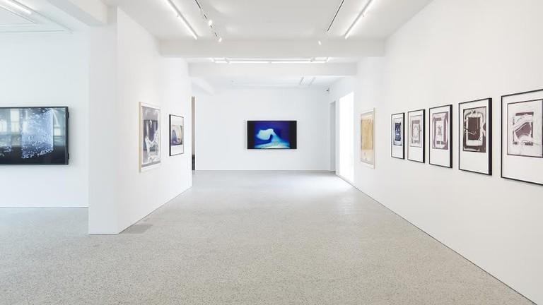 Steina and Woody Vasulka exhibition view