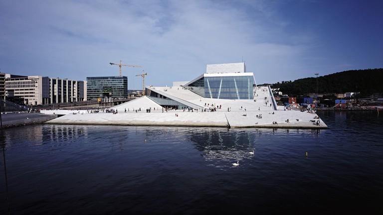 Den Norske Opera & Ballett   Courtesy of Snøhetta