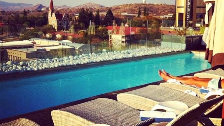 Hilton Windhoek rooftop
