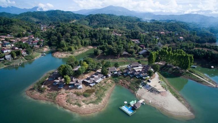 Aerial View | ©Sanctuary Nam Ngum Beach Resort/Hotels.com