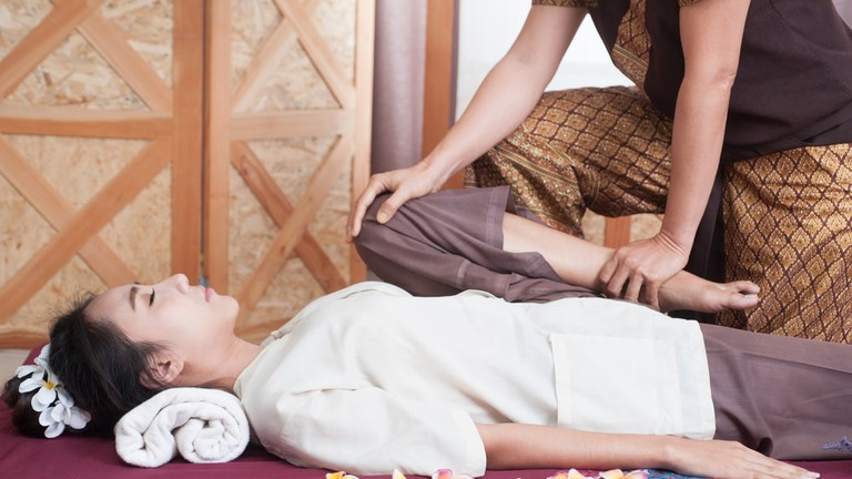 Authentic Thai massage