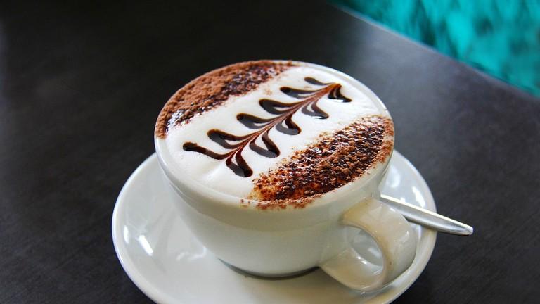 Coffee for breakfast in Zaragoza