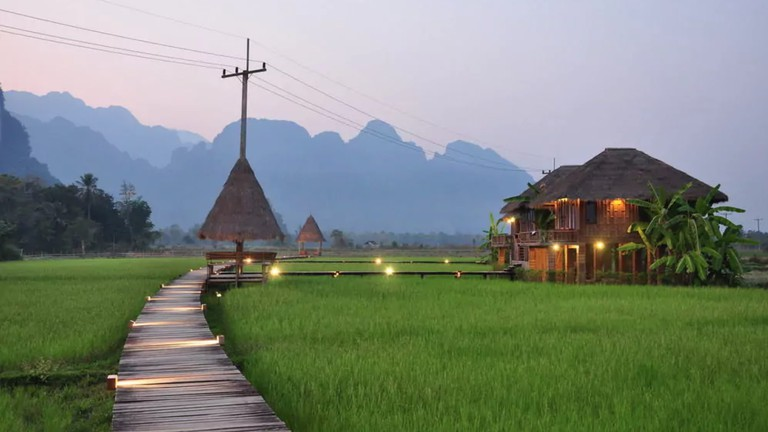 Rice Fields | © Vieng Tara Villa/Hotels.com